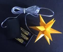 3d Led Sterne Weihnachtssterne 11 Cm Leuchtstern Mit Timer Einzeln Oder Set