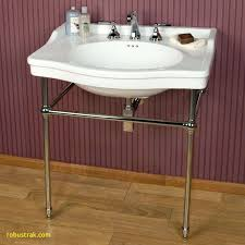 metal console sink stands ole bathroom table pedestal legs sonnet home design with full size