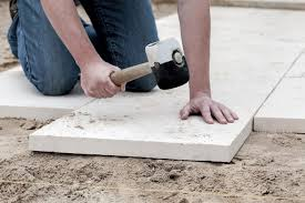 how to lay a paver shed foundation