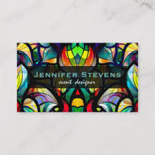 Abstract Swirls Business Cards Zazzle