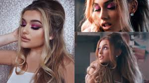 ariana grande side to side video hair make up rachel leary you