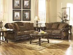 ashley furniture fresco living room set in antique