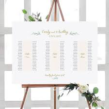 Printable Seating Chart For Wedding Reception Banquet Table Seating Plan 3 Long Tables Printable Banquet