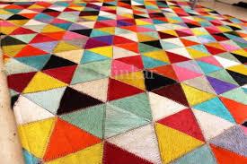 multi color triangle