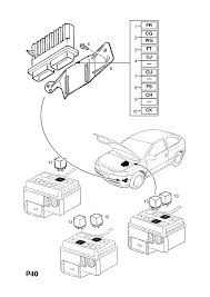 Diagram medium size opel astra g zafira a water cooling fan relay epc spare parts catalog