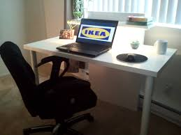ikea office table tops fascinating. TriFecta Computer Desk - IKEA Hackers Ikea Office Table Tops Fascinating Z