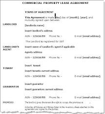 Standard Property Lease Agreement – Jumpcom.co – Template Ideas