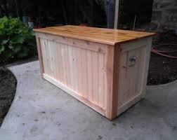 Deck Box - Firewood Storage
