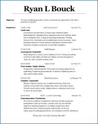 Free Resume Template Resume Sample Pipe Fitter Welder 21097