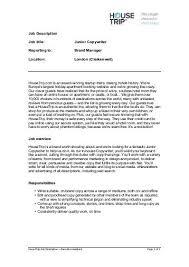 Copywriter Job Description Interesting JOB DESCRIPTION JOB DESCRIPTION Job Title SCENIC ARTIST