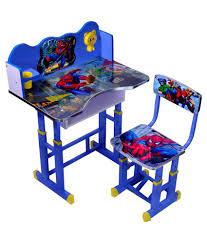 Wood Wizard Spiderman Kids Study Table Set ...