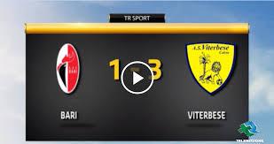 Bari - Viterbese 1-3 - TELEREGIONE