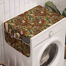 Rengarenk Çamaşır Makinesi Düzenleyici Şans Oyunu Desenli - Renklibi