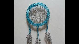 How To String Dream Catcher String Art Dreamcatcher YouTube 34