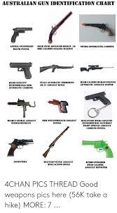 Gun Identification Chart Australian Gun Identification Chart Lethal Incendiary High
