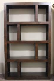 staggered bookshelf pleasant design  bookshelves bookcases etc