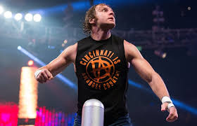 wwe posted this video of dean ambrose in the las vegas desert preparing for his no holds barred street fight against brock lesnar at wrestlemania 32