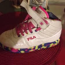 fila high top shoes. fila shoes - girls high top sneakers l