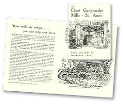 Chart Gunpowder Mills The Faversham Society