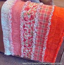 Easy rag quilt made in strips instead of squares. | REPINNED ... & Easy rag quilt made in strips instead of squares. I have made 2 ragtime  baby quilts using squares which is one of the easiest quilts to make…using  strips ... Adamdwight.com