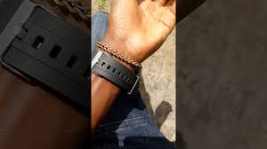 my first clic man shoes and a brand new watch gifted by my bae