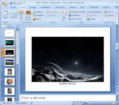 powerpoint photo albums