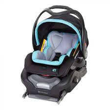 secure snap tech 35 infant car seat in tide blue by baby trend front side