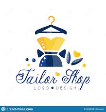 Fashion Designer Logo Design Tailor Shop Logo Dressmakers Salon Sewing Studio Fashion