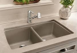 Thinking About The BLANCO SILGRANIT Sink  Pink Little Blanco Undermount Kitchen Sink
