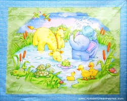 fleece fabric baby - fleece prints panels - cotton flannel fabric ... & fleece fabric baby - fleece prints panels - cotton flannel fabric - :  Tymber Creek Fabrics Adamdwight.com