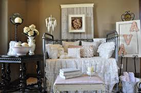 salt lake city bellini crib bedding with upholstered headboard nursery shabby chic style and rustic