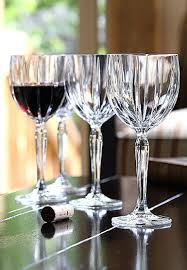 waterford crystal wine glasses marquis by crystal omega crystal red wine glasses set of 4 john