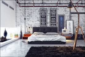 69800323799 Ideas For Designing Your Bedroom In An Industrial Style