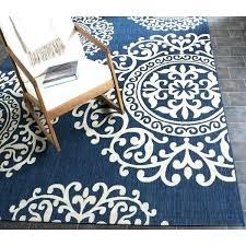 large round indoor outdoor rug courtyard area 8 x