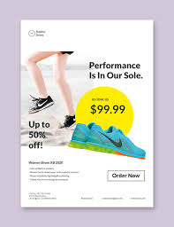 Shoe Drive Flyer Template 28 Promotional Flyer Designs Examples Psd Ai Word
