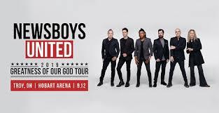 Tickets Newsboys United Hobart Arena