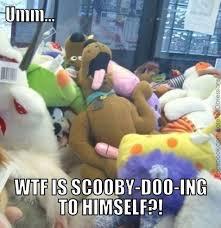 scooby doo, funny meme, plush toys, adult | I Really 'Meme' This ... via Relatably.com
