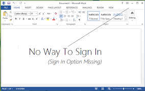 office 360 login fix sign in feature disabled in office 2016 2013
