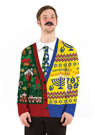 ugly-christmas-sweater-t-shirt-half-hanukkah-half-xmas-mens-2.jpg Ugly Christmas Sweater t-shirt Half Hanukkah Xmas mens