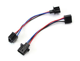 9006 to h11, h4 to h13 or 5202 to h11 harness for headlight retrofit h4 wiring harness upgrade h13 to h4 wiring harness adapters