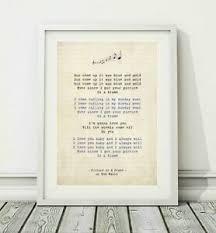 song art poster print