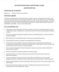 Accounts Payable Resume Summary Resume Accounts Payable Mazard Info