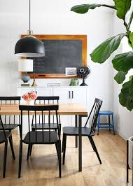 modern farmhouse furniture. Modern Farmhouse Dining Room With Hygge And West Wallpaper From The Fauxmartha Furniture R