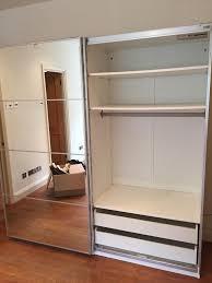 ikea pax sliding doors wardrobe