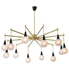 home design idea amusing mid century modern brasurano glass chandelier for at