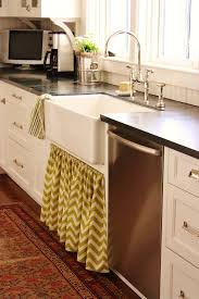 for the love of a house a new kitchen skirt for spring