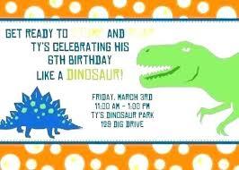 free dinosaur party invitations dinosaur birthday invitation template train editable