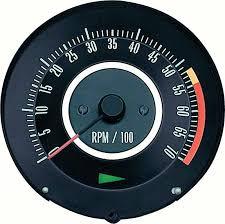camaro parts 6468910 1967 camaro 350 or 396 325hp tachometer gauges oe