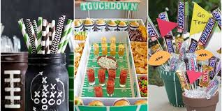 Super Bowl Party Decorating Ideas 60 DIY Football Decorations for a Super Bowl Party Decorating 2