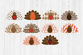 These svg images were created by modifying the images of pixabay. 6 Turkey Monogram Svg Designs Graphics